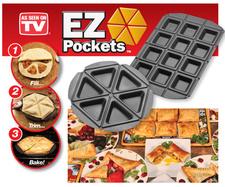 זוג תבניות כיסים לאפיה EZ Pockets
