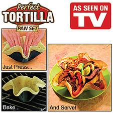 תבניות אפיית טורטיה Perfect Tortilla Pan