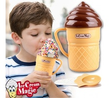 מכין גלידה בדקות ice cream magic