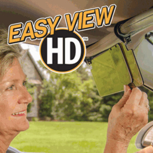 מגן שמש קדמי לנהג EASY VIEW HD  המגן מפני סנוור ובוהק השמש