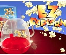 מתקן להכנת פופקורן במקרוגל   EZ Popcorn