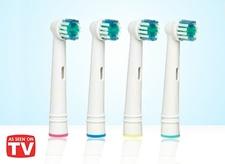 ראשים למברשת שיניים חשמלית תואם Oral-B או חברת בראון