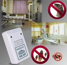 דוחה חרקים ועכברים אלקטרוני RIDDEX