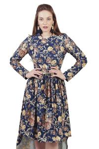 שמלת פרינסס פרחונית