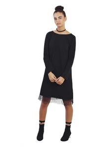 שמלת פוטר שחורה סיומת טול