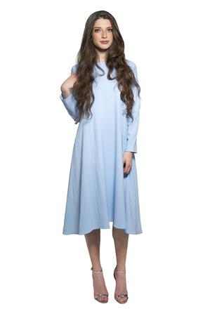 שמלת Less Is More תכלת