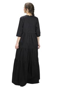 שמלת יוסטון שחורה