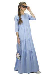 שמלת יוסטון תכלת