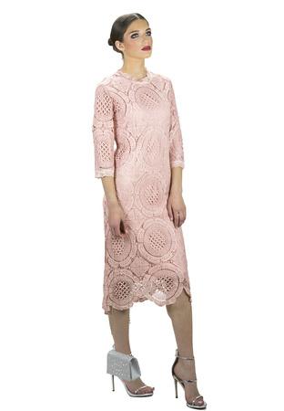 שמלת גפיור ורוד עתיק