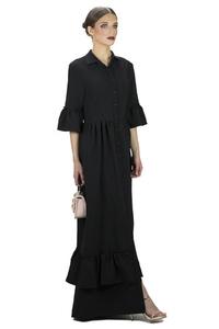שמלת פפילום שחורה