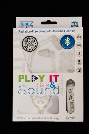 אוזניות Bluetooth מופחתות קרינה