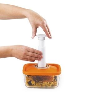 STATUS קופסאות אחסון מזון מזכוכית בוואקום עמוק סטטוס