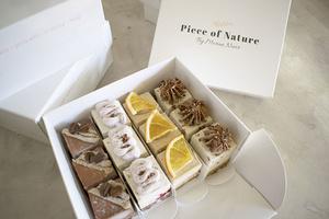 מארז עוגות ביס טבעונאיות - עוגות טבעוניות RAW