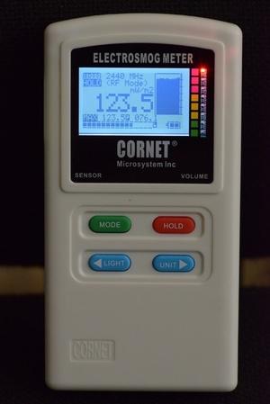 מד קרינה בייתי  מדגם CORNET ED88TPLUS - הדרכה פרונטלית בזכרון יעקוב