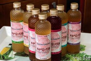 """משקה קמבוצ`ה תוסס אורגני מפירות מגוונים - 330 מ""""ל"""