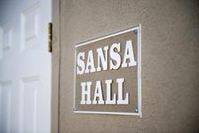 שלט דלת מתחם SANSA