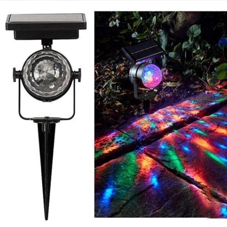 חדש שמש כוח מנורת LED מקרן אור צבעוני