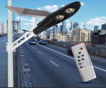 מנורת רחוב פאנל סולארי רחוב אור waterproof IP65 תאורת חוץ  80W