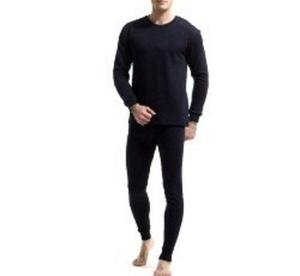 ביגוד תרמי / טרמי לבידוד מקור קיצוני לחורף הקר לגבר מכנס+חולצה לבידוד מקור קיצוני